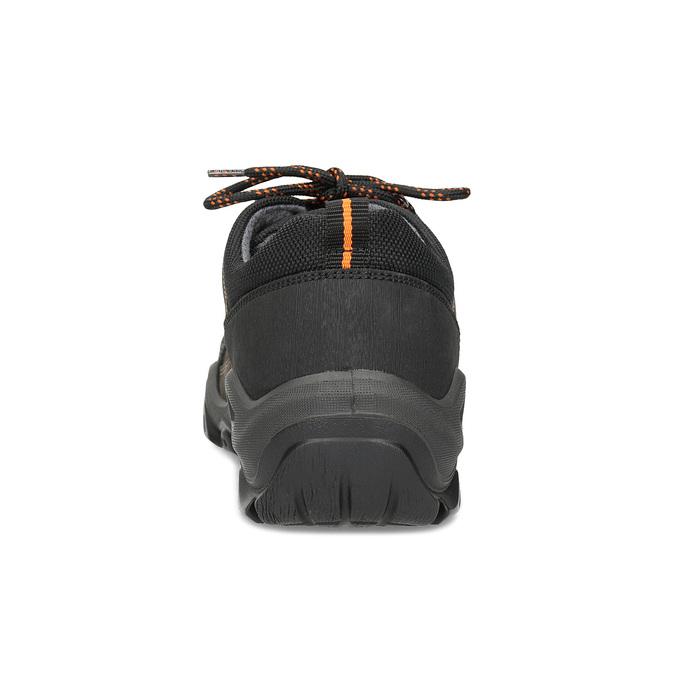 Pánská kožená obuv s masivní podešví weinbrenner, hnědá, 846-4806 - 15