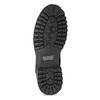 Pánská kožená kotníčková obuv s prošitím weinbrenner, černá, 896-6733 - 18