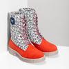 Kožená dámská kotníčková obuv z limitované kolekce, 2020-596-5760 - 26