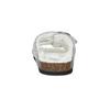 Dámské domácí nazouváky s kožíškem de-fonseca, šedá, 579-2636 - 15