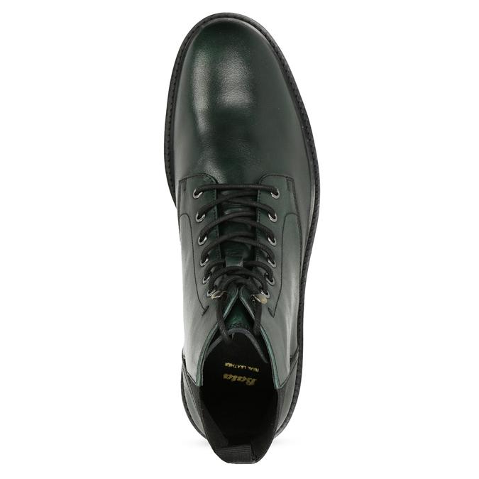Pánská kotníčková obuv tmavě zelená bata, zelená, 896-7722 - 17