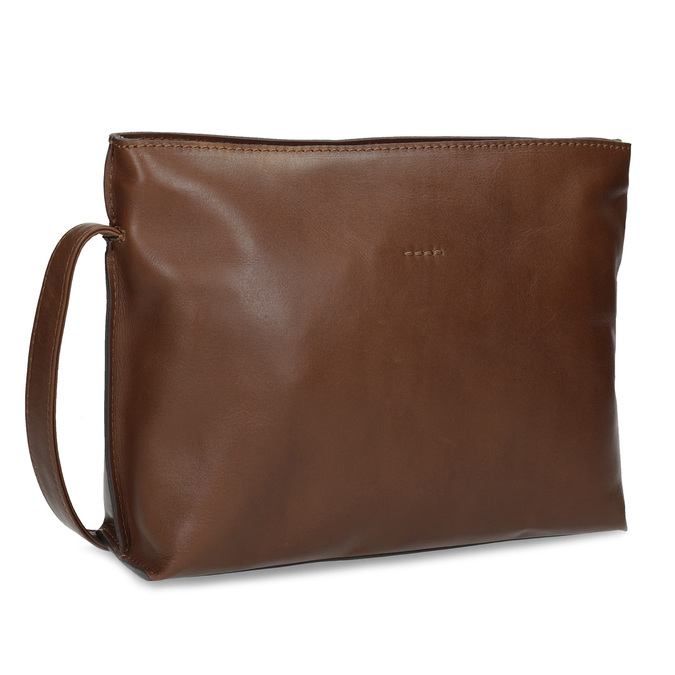 Kožená hnědá crossbody kabelka bata, hnědá, 964-3605 - 13