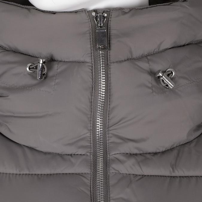 Dámská prošívaná bunda s límcem šedá bata, béžová, 979-8344 - 16