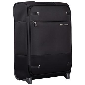Černý textilní kufr na kolečkách samsonite, černá, 969-6618 - 13