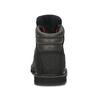 Pánská kožená kotníková obuv s červenými tkaničkami sorel, černá, 826-6009 - 15