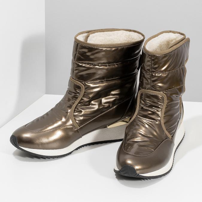 Dámské sněhule bronzové bata, bronzová, 599-8626 - 16
