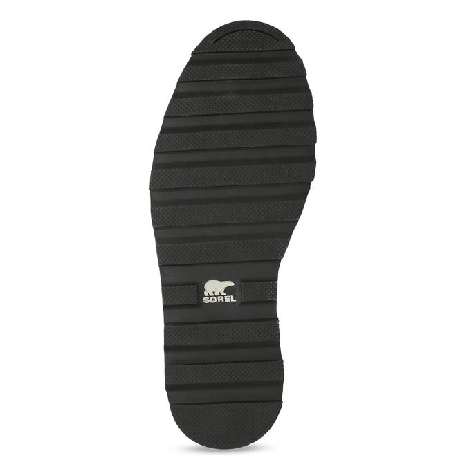 Pánská kotníková obuv se šněrováním sorel, zelená, 826-7003 - 18
