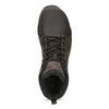 Kotníčková hnědá kožená pánská obuv merrell, hnědá, 806-4102 - 17