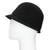 Černý dámský klobouk s perličkami bata, černá, 909-6283 - 26