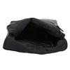 Kožený černý batůžek bata, černá, 964-6607 - 15