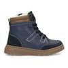 Dětské kožené zimní boty modré mini-b, modrá, 294-9601 - 19