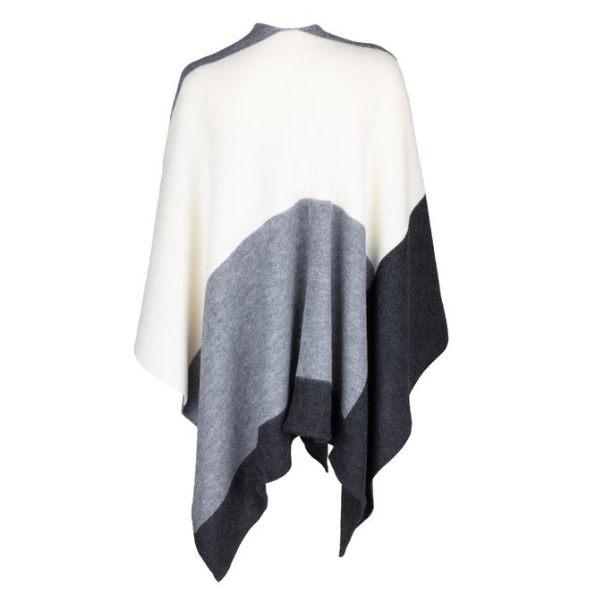 Dámské textilní pončo bata, vícebarevné, 909-0647 - 16