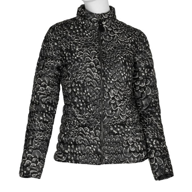 Dámská prošívaná bunda se vzorem joules, černá, 979-6037 - 13