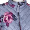 Prošívaná dámská bunda se vzorem joules, šedá, 979-2027 - 16
