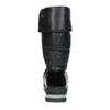 Dámská černá zimní obuv  s výraznou podešví bata, černá, 599-6622 - 15
