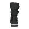 Černé dámské sněhule s výraznou podešví bata, černá, 599-6625 - 15