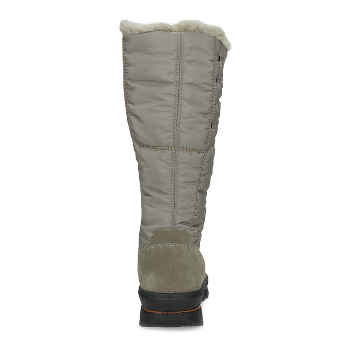 Béžové dámské sněhule s kožíškem weinbrenner, béžová, 599-8632 - 15