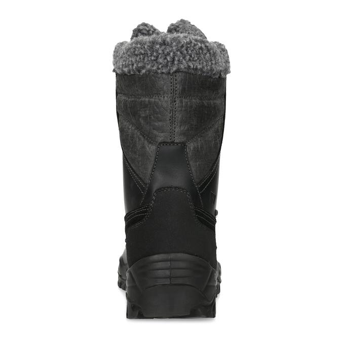 Pánské zimní sněhule se zateplením weinbrenner, černá, 896-6730 - 15