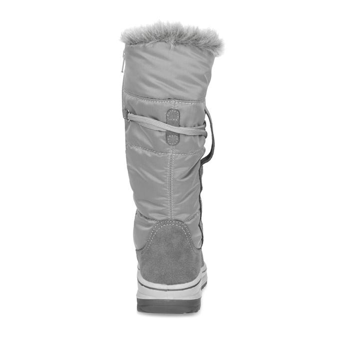 Weinbrenner Dámské šedé sněhule s kožíškem - Sněhule  8dc5a49e8c