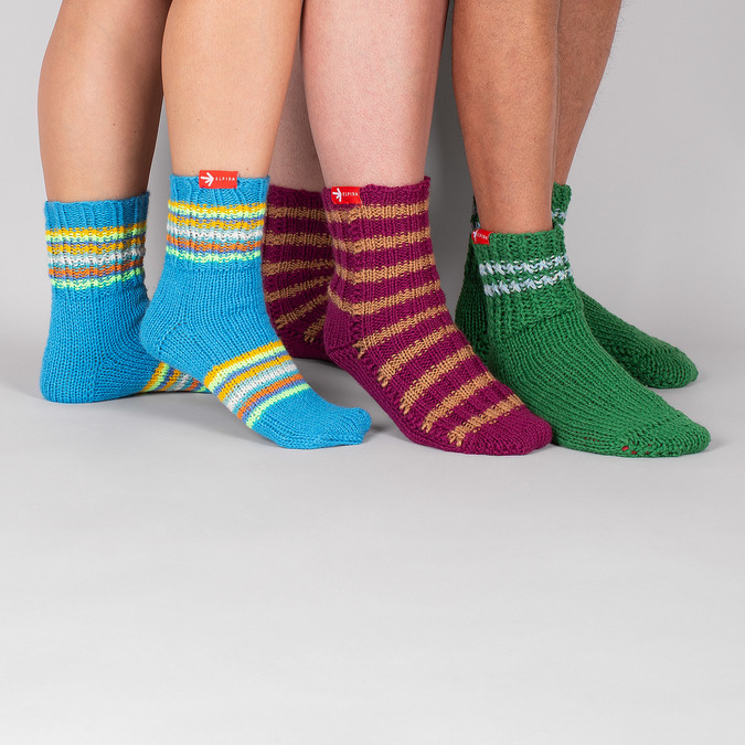 Ponožky od babičky S/M bata, vícebarevné, 919-0754 - 15