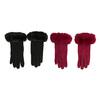 Dámské rukavice s kožíškem bata, vícebarevné, 909-0505 - 26