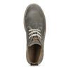 Pánská kotníčková obuv z broušené kůže weinbrenner, šedá, 896-2735 - 17