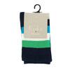 Dětské vysoké ponožky s proužky bata, zelená, 919-7688 - 13