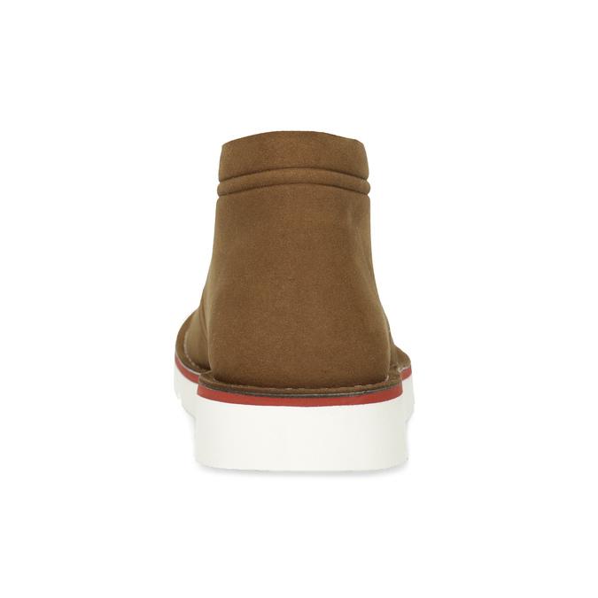 Ležérní hnědá pánská Desert Boots obuv bata-b-flex, hnědá, 899-3600 - 15