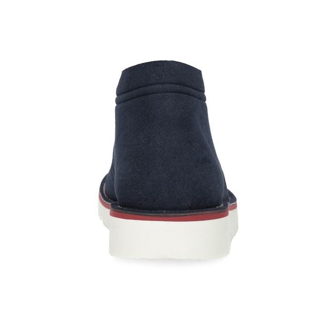 Modrá pánská ležérní kotníčková obuv bata-b-flex, modrá, 899-9600 - 15