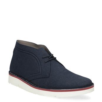 Modrá pánská ležérní kotníčková obuv bata-b-flex, modrá, 899-9600 - 13