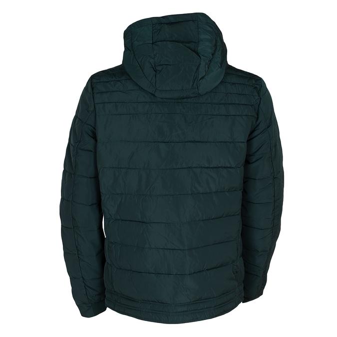 Zelená pánská bunda s prošitím bata, zelená, 979-7430 - 26