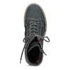 Kožená dámská vysoká obuv weinbrenner, šedá, 596-2746 - 17