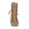 Světle hnědá dámská kožená obuv weinbrenner, hnědá, 596-3758 - 15