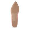 Dámské baleríny do špičky růžové bata-red-label, růžová, 521-5644 - 18