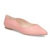 Dámské baleríny do špičky růžové bata-red-label, růžová, 521-5644 - 13
