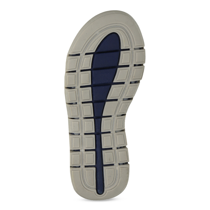 Chlapecké sandály na suchý zip modré mini-b, modrá, 263-9605 - 18