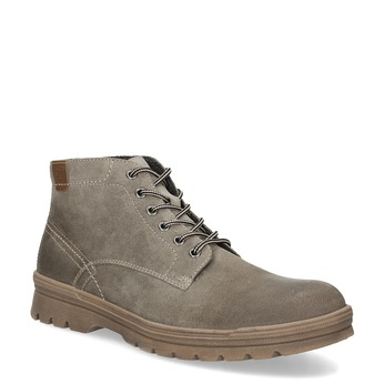 Pánská zimní obuv weinbrenner, béžová, 896-8107 - 13