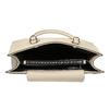 Dámská béžová kabelka s kovovými cvoky bata, béžová, 961-8962 - 15