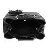 Černá kabelka se střapcem a kovovými uchy bata, černá, 961-6930 - 15