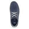 Modré pánské tenisky z broušené kůže bata, modrá, 823-9640 - 17