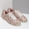 Květované dámské tenisky růžové bata-red-label, růžová, 541-5606 - 26