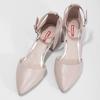 Tělové dámské lodičky na stabilním podpatku bata-red-label, růžová, 621-8654 - 16
