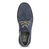 Tmavě modré pánské tenisky kožené comfit, modrá, 843-9650 - 17