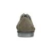 Pánské tenisky z broušené kůže zelené comfit, šedá, 843-8650 - 15