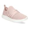 Růžové dámské tenisky na bílé podešvi bata-red-label, růžová, 519-5607 - 13