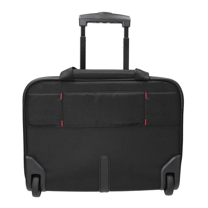 Cestovní brašna s kolečky a kapsami samsonite, černá, 969-6845 - 26
