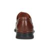 Pánské kožené hnědé polobotky s prošitím fluchos, hnědá, 824-4543 - 15
