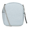 Modrá Crossbody kabelka s kovovými cvoky bata, modrá, 961-9965 - 16