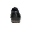 Kožené černé pánské polobotky bata, černá, 824-6881 - 15