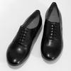 Černé kožené dámské polobotky bata, černá, 544-6603 - 16